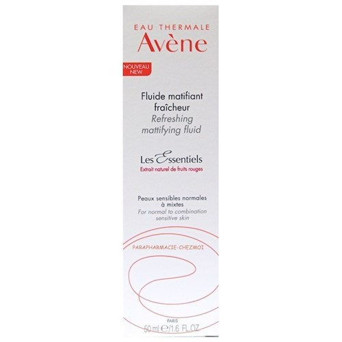 FRESH MATTIFYING FLUID FOR ESSENTIALS NORMAL TO COMBINATION SKINS 50ML AVENE