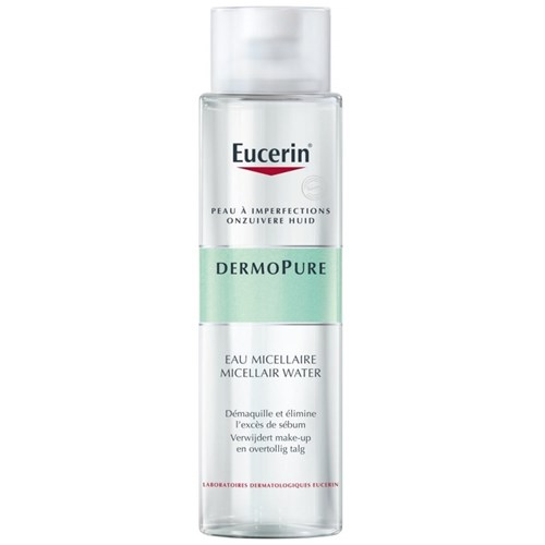 MICELLAR WATER FOR SKINS WITH IMPERFECTIONS 400ML DERMOPURE EUCERIN