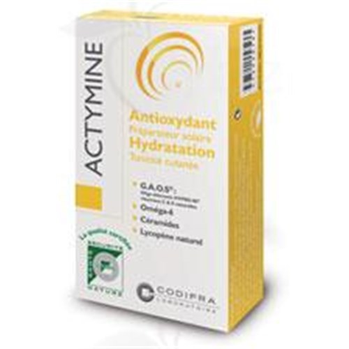 ACTYMINE, solar Capsule dietary supplement for cosmetic purposes. - Bt 30