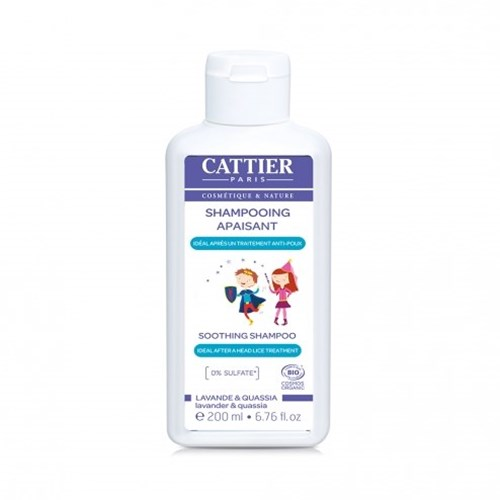 SOOTHING AFTER ANTI-LICE TREATMENT 200ML CATTIER SHAMPOO