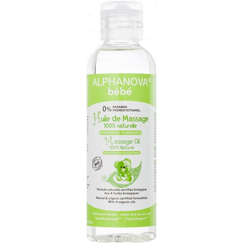Baby Bio MASSAGE OIL 100ml