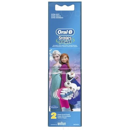 BROSSETTES ORAL-B STAGES POWER REINE DES NEIGES
