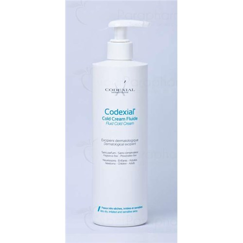 CODEXIAL COLD CREAM FLUID Cold cream dermatological carrier fluid. - 300 ml fl