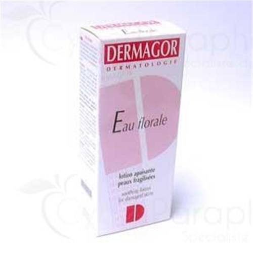 DERMAGOR FLORAL WATER Water dermatological floral, without alcohol. - Fl 150 ml