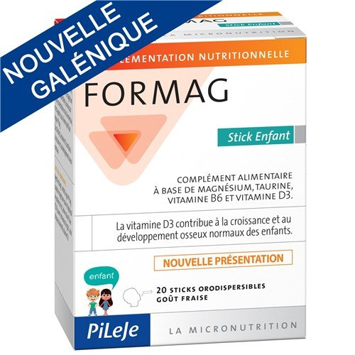 PILEJE FORMAG enfant 20 sticks orodispersibles