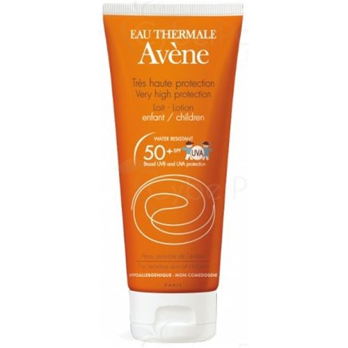 AVÈNE VERY HIGH PROTECTION MILK KIDS SPF 50 + Sun lotion high protection SPF 50 +. - Tube 250 ml