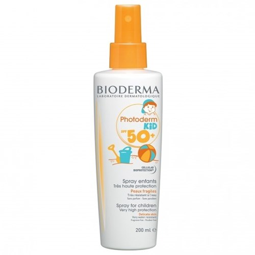 CHILD SUN SPRAY SPF50 + 200ML PHOTODERM KID BIODERMA