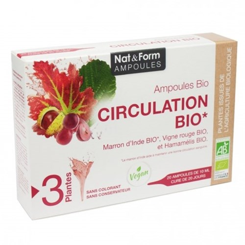 NAT & FORM CIRCULATION BIO 20 BULBS