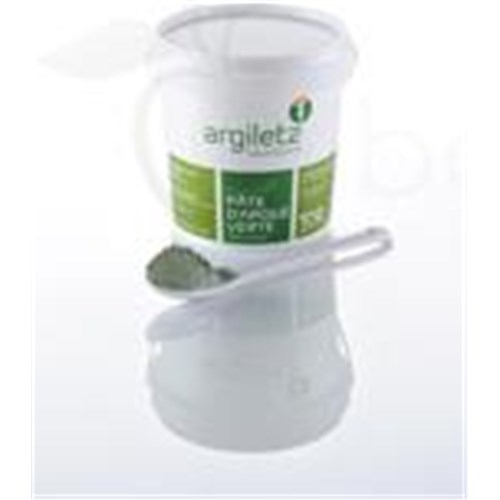 ARGILETZ GREEN CLAY dough, green clay, ready to use. - 1.5 kg pot