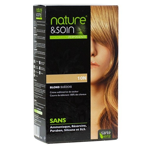 NATURE & SOIN color 10N swedish blond