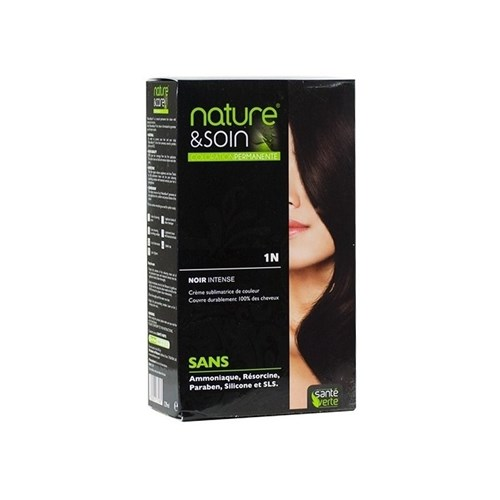 NATURE & SOIN color 1N intense black