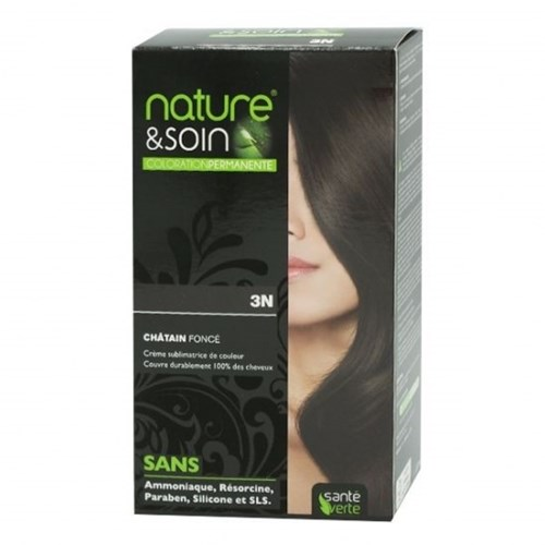 NATURE & SOIN color 3N dark blond