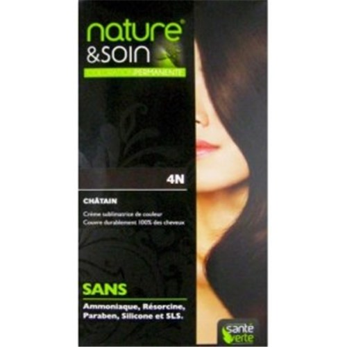 NATURE & SOIN color 4N blond