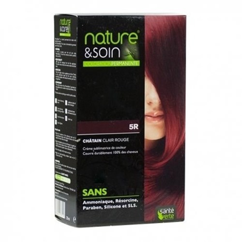 NATURE & SOIN color 5R red light blond