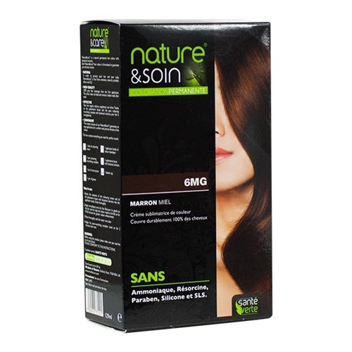 NATURE & SOIN color 6MG honey brown