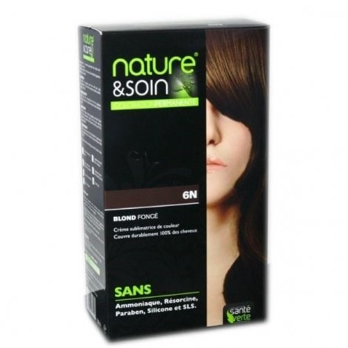 NATURE & SOIN color 6N dark blond