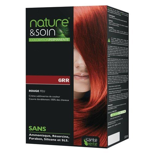 NATURE & SOIN color 6RR red fire