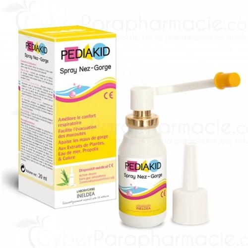 PEDIAKID, nez-gorge spray 20ml