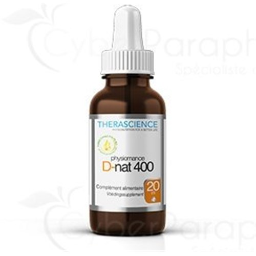 PHYSIOMANCE D-NAT 400 20 ml