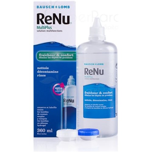 RENU MULTIPLUS fresh, multifunction solution for contact lenses. - Fl 360 ml