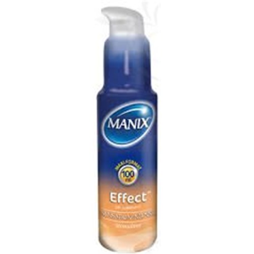 MANIX EFFECT GEL LUBRIFIANT, Gel lubrifiant pour usage intime, sensation intense. - fl 50 ml