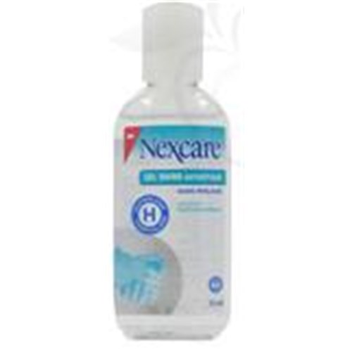 NEXCARE GEL MAINS ANTISEPTIQUE, Solution hydroalcoolique antiseptique, sans rinçage. - fl 75 ml