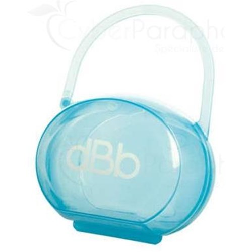 RÉMOND RANGE SUCETTE translucent Range pacifier with handle. blue sky - unit