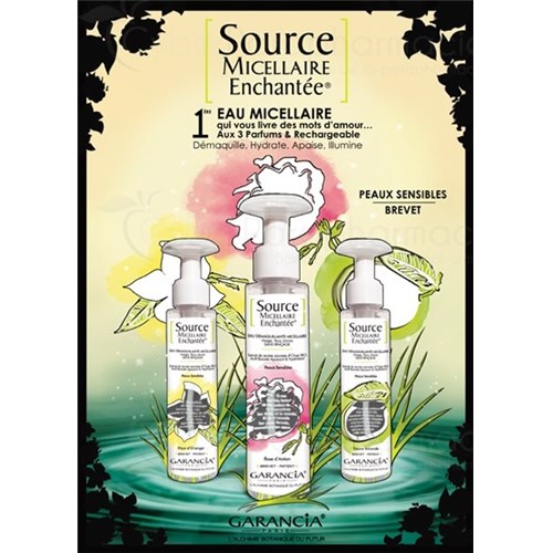 ENCHANTED MICELLAR SOURCE - Rose, 100ml bottle-pump