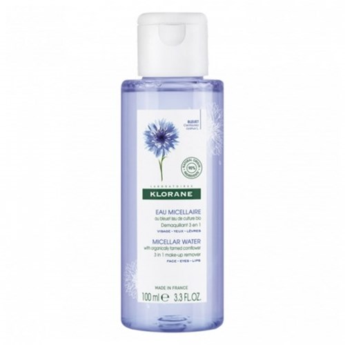 MICELLAR WATER BLUEBERRY RITUAL FACE EYE LIP 100ML KLORANE