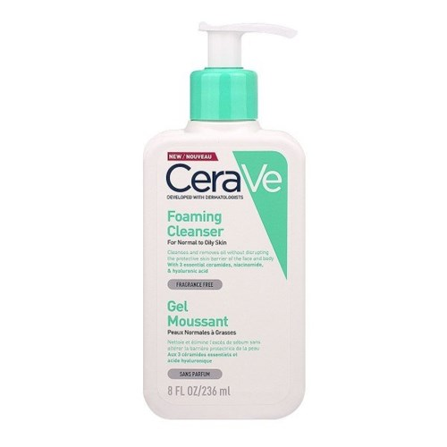 MOISTURIZING CLEANSING CREAM FOR FACE AND BODY NORMAL TO DRY SKINS 236ML CERAVE