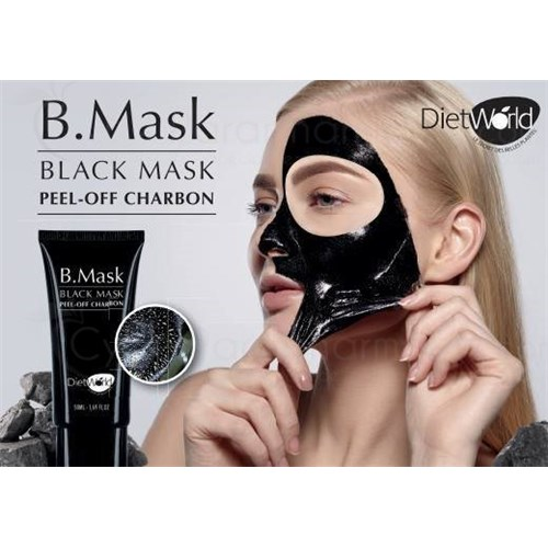 B.MASK, black mask peel off with coal, 50ml