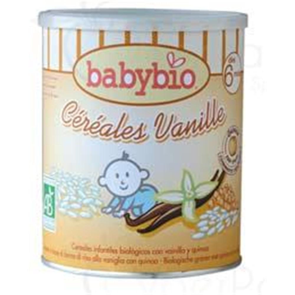 BABYBIO CEREALS VANILLA Snowflake Instant Cereal For