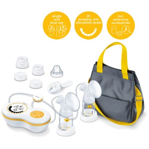 Double electric breast pump BY 70 Dual