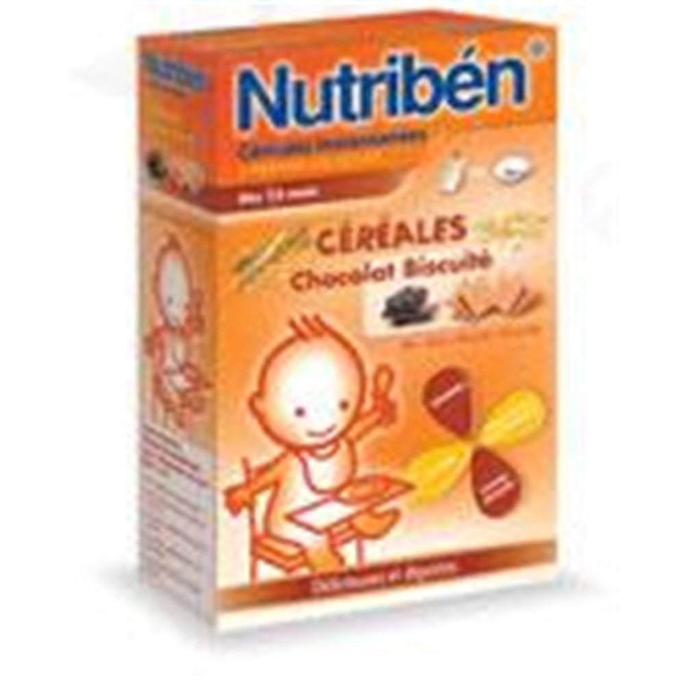 INSTANT CHOCOLATE CEREAL Nutriben Biscuit, Instant Infant