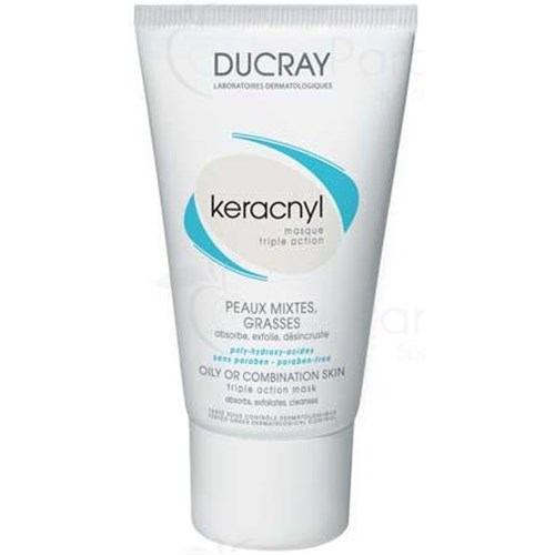 Keracnyl TRIPLE ACTION MASK Mask Exfoliating triple action to polyhydroxyacids. - 40 ml tube