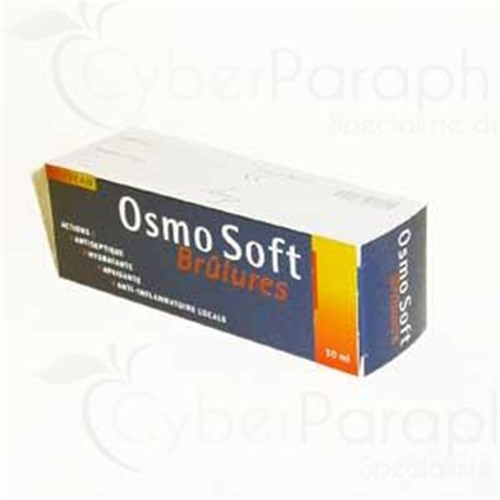 OSMO SOFT BRÛLURES, Hydrogel antiseptique, apaisant, antiinflammatoire local et hydratant. - tube 150 ml