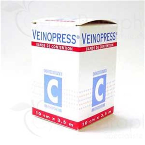 VEINOPRESS 1 Band contention cohesive strength 1 Topic of the range. 3,5 m x 10 cm (ref. 61603) - unit