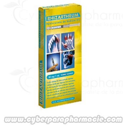 RHIZARTHRUM solution injectable (1x1ml)