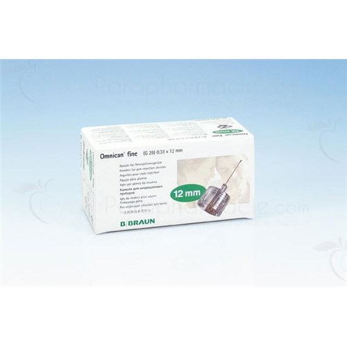 Omnican FINE needle for insulin injection pens G31, 6 mm x 0.25 mm - bt 100