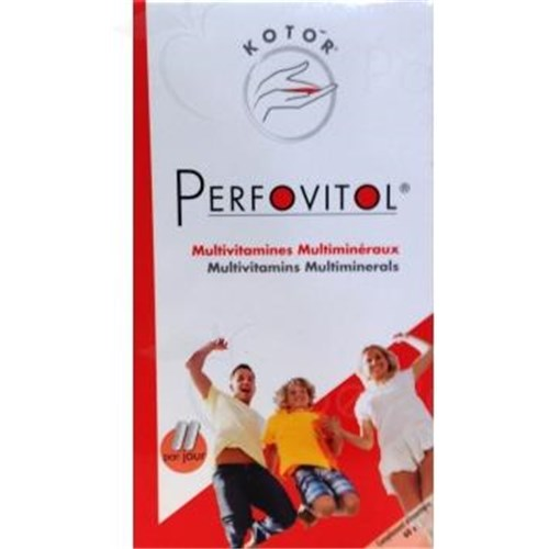 PERFOVITOL ENERGY vitamins and minerals 60 caps