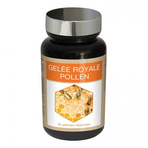 ROYAL JELLY POLLEN 60 CAPSULES NUTRI EXPERT