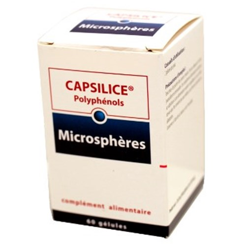 CAPSILICE POLYPHENOLS JOINT AND VASCULAR TONE Capsule dietary supplement joint and circulatory referred. - Bt 60
