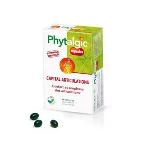 PHYTALGIC CAPSULE CAPITAL ARTICULATIONS Capsule, dietary supplement with articular aim, bt 45