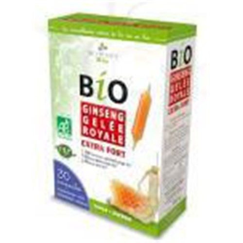 GINSENG ROYAL JELLY BIO EXTRA STRONG Bulb, energy dietary supplement and conditioner. - Bt 30