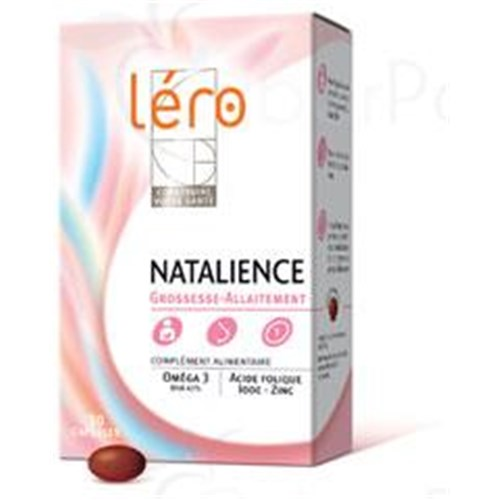 Lero NATALIENCE, Capsule dietary supplement high in DHA. - Bt 90