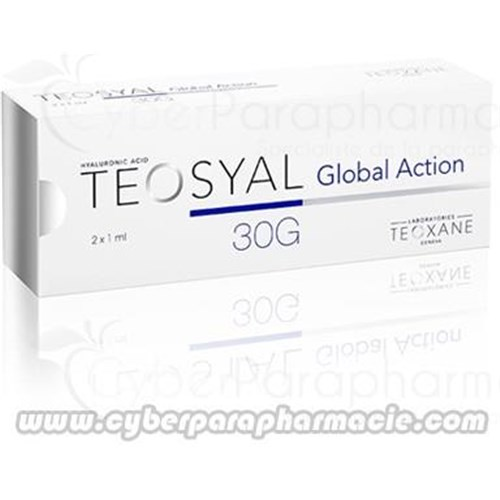 TEOSYAL GLOBAL ACTION Acide hyaluronique (2x1ml)