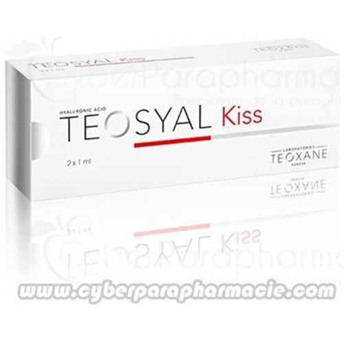 TEOSYAL KISS Acide hyaluronique (2x1ml)