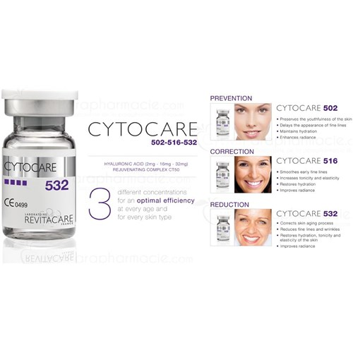 CYTOCARE 502 Acide hyaluronique (10x5ml)