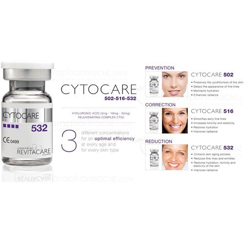 CYTOCARE 532 Acide hyaluronique (10x5ml)