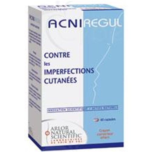 ACNIRÉGUL CAPSULE Capsule, seboregulator dietary supplement and purifying. - Bt 60